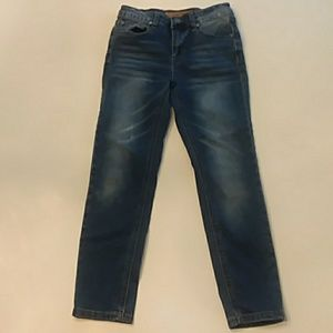 Joe's jeans size 8 adjustable waist blue jeans